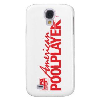 Custom American Pool Player - Red Galaxy S4 Case
