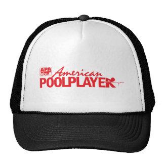 Custom American Pool Player - Red Hat
