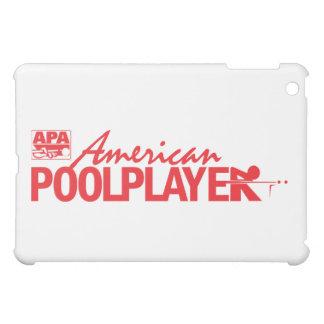 Custom American Pool Player - Red Case For The iPad Mini