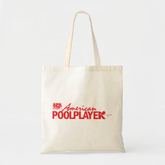 Custom American Pool Player - Red Tote Bag