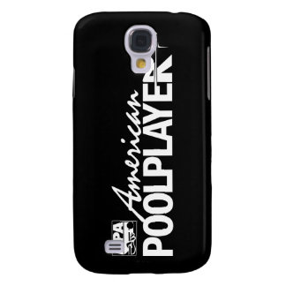 Custom American Pool Player - White Galaxy S4 Case