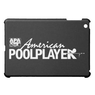 Custom American Pool Player - White Case For The iPad Mini