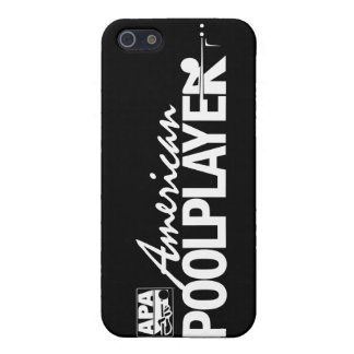 Custom American Pool Player - White iPhone 5/5S Cover