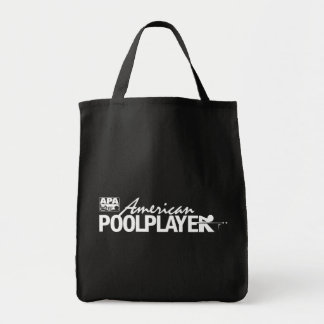 Custom American Pool Player - White Tote Bag