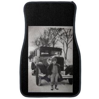 Custom Antique Set of Car Mats
