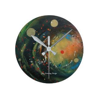 Custom approximately embankment Clock with jazz