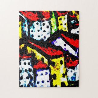 Custom Art Puzzle - Bright City