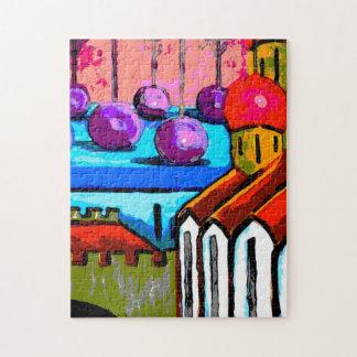 Custom Art Puzzle - Bright Towers 2