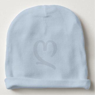 Custom Baby Cotton Beanie - Heart (b) Baby Beanie