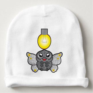 Custom Baby Cotton Beanie with moth and light bulb Baby Beanie