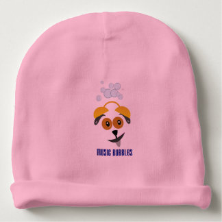 Custom baby Cotton Beanie with motive for dog Baby Beanie