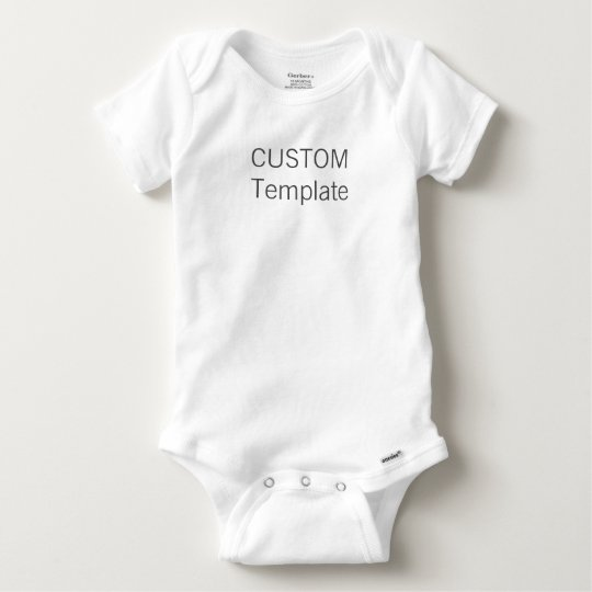 Custom Baby Cotton Gerber® Bodysuit Creeper