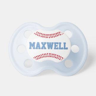Custom Baby Pacifier   Baseball Design Baby Boy