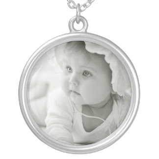 Custom Baby Photo Necklace