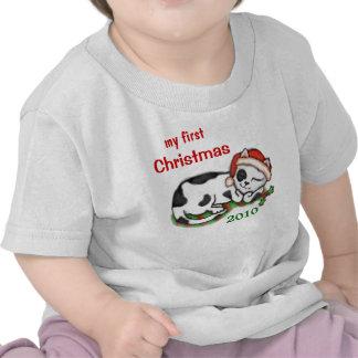 Custom Baby s First Christmas T-Shirt