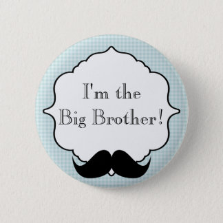 Custom Baby Shower Party Im the Big Brother Button