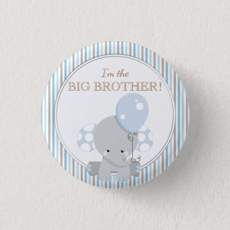 Custom Baby Shower Party I'M THE BIG SISTER Button