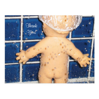 Custom Baby Shower Thank You Card for Boy or Girl Postcard