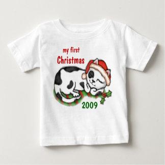 Custom Baby's First Christmas  / T-Shirt