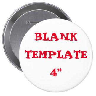 "Custom Bachelorette Blank Template 4"" Button"