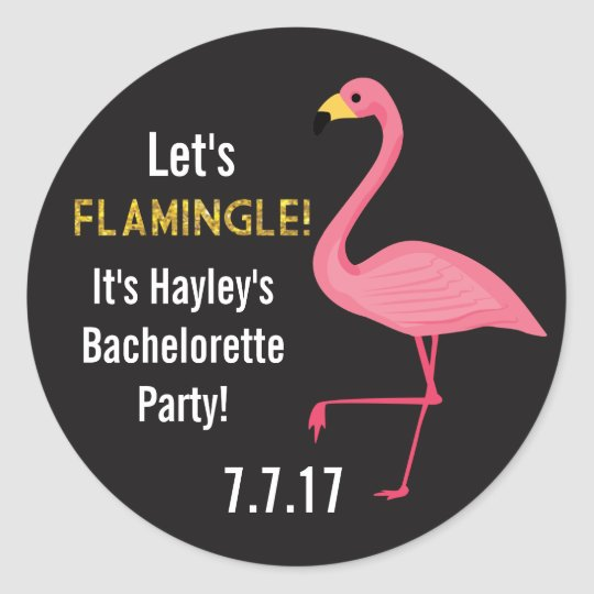 Custom Bachelorette or Bridal Shower Stickers