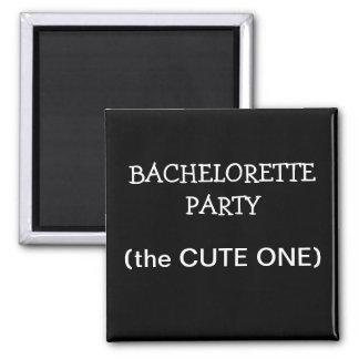 Custom Bachelorette Party ID Button Fridge Magnets
