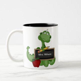 Custom Back To School Teacher Appreciation Gift Two-Tone Mug