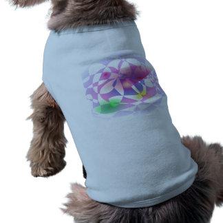 Custom Background Color Basket Sleeveless Dog Shirt