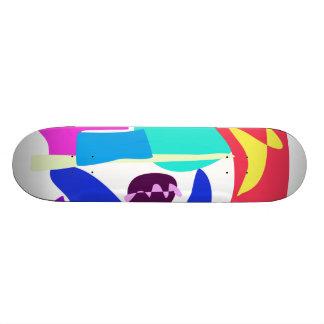 Custom Background Color King Custom Skate Board