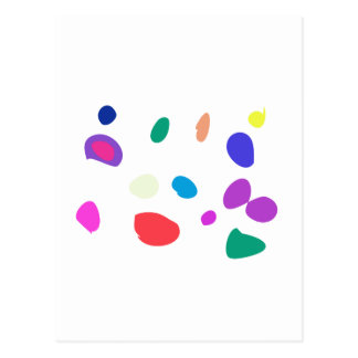 Custom Background Color Pebbles Postcard