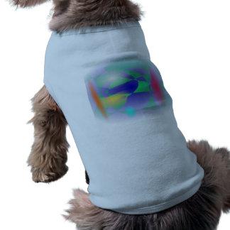 Custom Background Engine Sleeveless Dog Shirt
