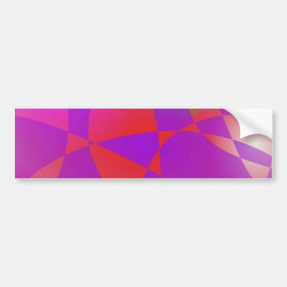 Custom Background Galaxcy Bumper Sticker