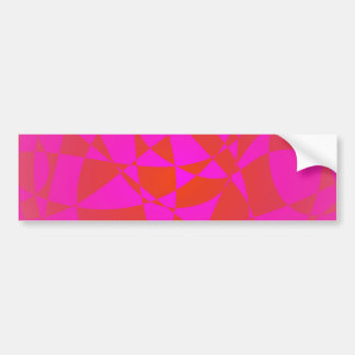 Custom Background Shaved Ice Bumper Stickers
