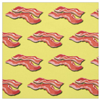 Custom Bacon Fabric