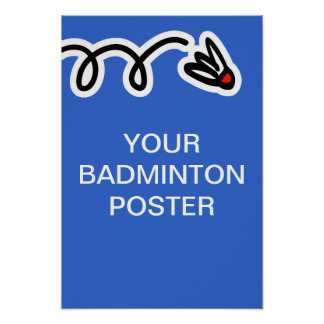 Badminton Posters & Prints | Zazzle.co.uk