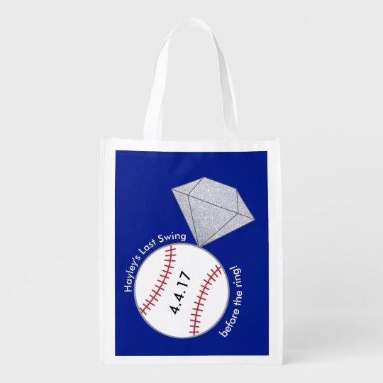 Custom Bag for Bachelorette Party- Baseball