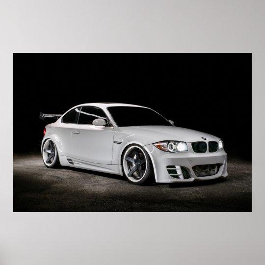 Custom Bagged Widebody BMW 1 Series Poster