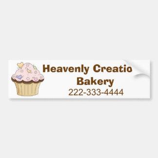 Custom Bakery Bumpsticker Bumper Sticker