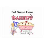 Custom Baking Kitchen Gifts Post Card