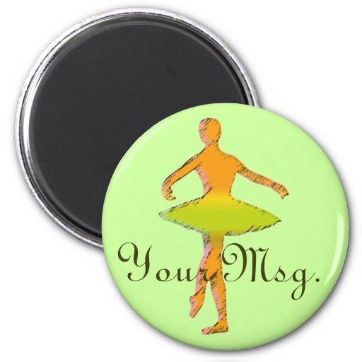 Custom Ballet Gifts | Dance T-shirts Fridge Magnets