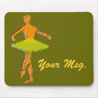 Custom Ballet Gifts | Dance T-shirts Mouse Pad