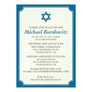 Custom Bar Mitzvah Invitation - Change Color