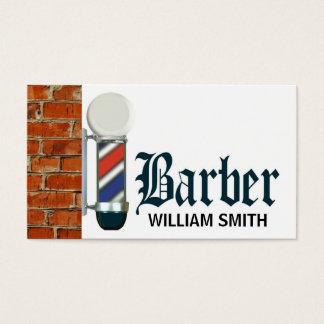 Custom Barber Shop Pole Business Card