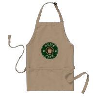 Custom barista apron for coffee shop café or bar