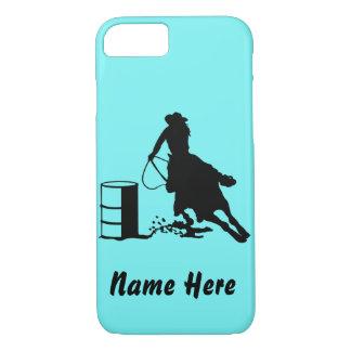 Custom Barrel Racer Cowgirl Rodeo Phone Case