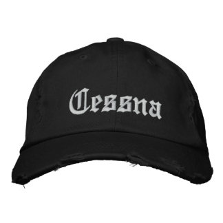 Custom Baseball Cap-CESSNA Embroidered Hats