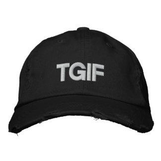 Custom Baseball Cap-TGIF Baseball Cap