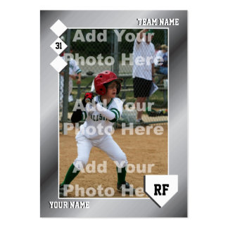 Custom Baseball Card Business Cards
