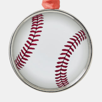 Custom Baseball Christmas Ornament