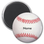Custom Baseball Magnet